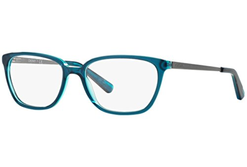 DKNY DY4667 Eyeglass Frames 3677-54 - Green/green Transparent