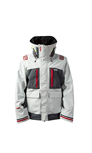 Used, Gill Men's Tournament with Vortex Hood Jacket, Silver, for sale  Delivered anywhere in USA