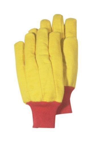 Handmaster Chore Gloves Fleece Men Large Knit Gold