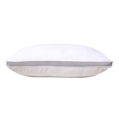 - VODOF Single Pillow for Sleeping, Relief for Neck Pain, 100% Cottons Super Soft & Goose Down Alternative (Standard 20
