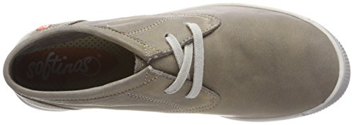 Softinos Indira Washed, Sneaker a Collo Alto Donna Beige (Taupe)