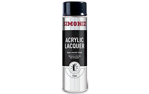 Simoniz acrí lico transparente lacado 500 ml Holt Lloyd International Ltd B004R95MVM