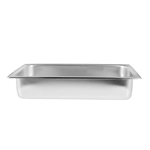 Chafer Water Pan - TigerChef TC-20249 Full Size Dripless Water Pan, 8 Quart