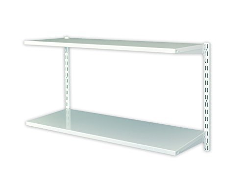 Element System 11356-00000 Office 3 Shelf Set Solution for Housekeeping/Workshop/Garage - White by Element-System