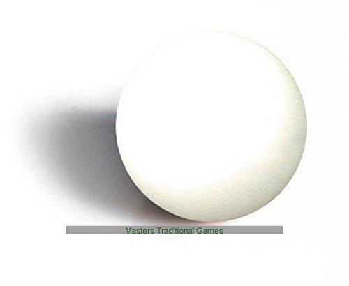 Set di 10 Bianche palle calcio balilla (33 millimetri diam) per adattarsi Garlando e altri tavoli da calcio SGL