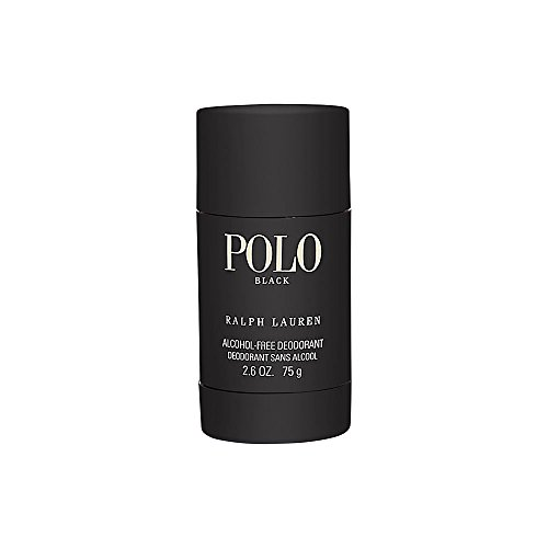 Polo Black by Ralph Lauren for Men 2.5 oz Deodorant Stick Alcohol-Free ()