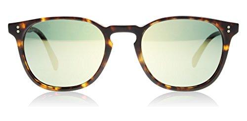 Oliver Peoples Unisex Finley Esq. Sun Semi Matte Sable Tortoise/G15 Goldtone Polarized Vfx One - Oliver Finley