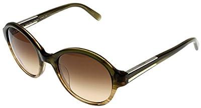Calvin Klein Sunglasses Havana Olive Unisex CK7865 313 Round