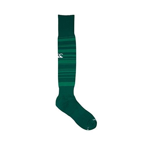 Canterbury Ireland Rugby 2017/18 Vapodri Home Socks - Adult - Evergreen - Medium (Stocking Evergreen)