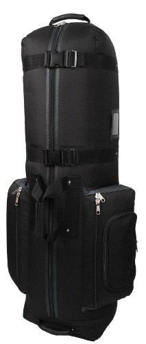 CaddyDaddy Golf Constrictor 2 Travel Cover (Black/Grey) (Travel Roller Cover Bag Golf)