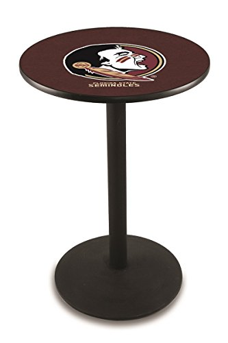 Holland Bar Stool L214B Florida State Head Officially Licensed Pub Table, 28