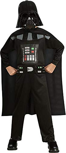 Rubie's Costume Kids Star Wars Episode 3 Darth Vader Costume, Multicolor, Small ()