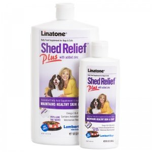 Lambert Kay Linatone Shed Relief Plus Dog and Cat Skin and Coat Liquid Supplement 16 (Linatone Plus Shed Relief)