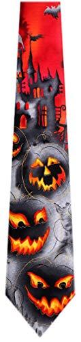 JG-7040 - Jerry Garcia Mens Fashion Designer Brand Halloween Silk Necktie Ties -