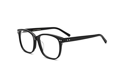 HEPIDEM 2017 New Acetate Glasses Frame Men Women Prescription Spectacles Eyeglasses Optical Frames Eyewear 22027 - Glasses Design Frames New