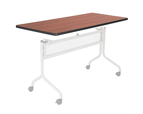 Safco 2066CY Impromptu Series Mobile Training Table Top Rectangular 60w x 24d Cherry
