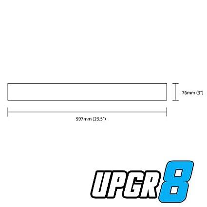 Upgr8 Universal Outside Diameter Polished Aluminum Pipe , 90 Degree 63MM 2.5