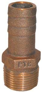 PIPE HOSE ADAPTER BARB CAST BRONZE 34 PTH750 GROCO 3//4 PIPE 3//4 HOSE BARB MARINE