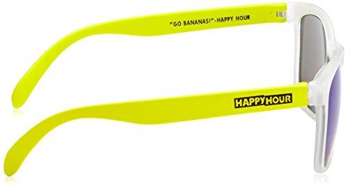 color amarillo Gafas sol HOUR de talla HAPPY Bananas gris única y Hapglaelba wO8qxg1