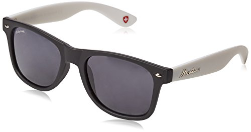 Multicolore Lenses de Black Soleil Mixte Lunettes Smoke Multicoloured Montana White nqzIAwx