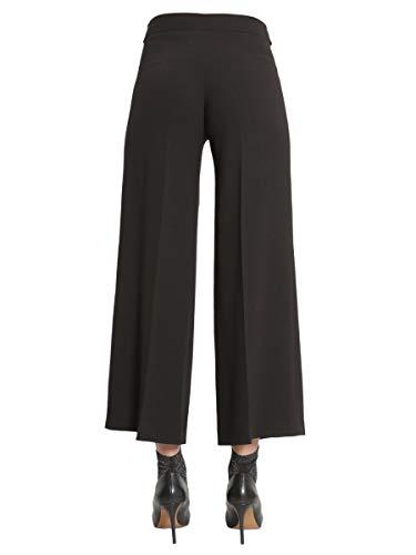 Poliéster Mujer Pantalón 030461240555 Negro Boutique Moschino WFYq5TgnwZ