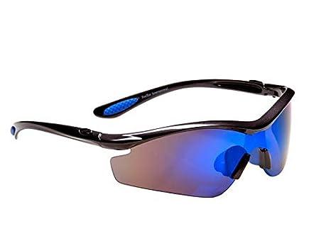 87e24064029 RayZor Professional Lightweight GunMetal Grey UV400 Sports Wrap Ski    Snowboard Sunglasses