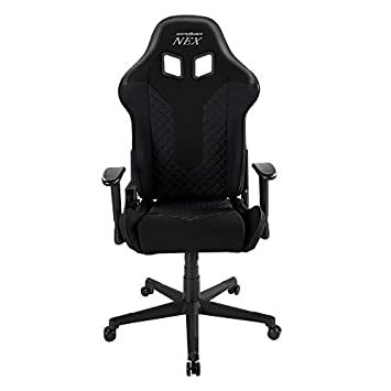 DXRacer EC OK01 N Bucket Seat Office Chair Gaming Chair Ergonomic Computer Chair Esports Desk Chair Executive Chair Furniture Black Black
