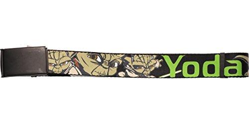 Star Wars Yoda Web Belt 1.25in Width One Size Fits Most