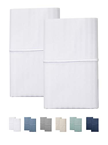 - FEATHER & STITCH NEW YORK 500 Thread Count Sheet Sets (White, Standard Pillowcases)