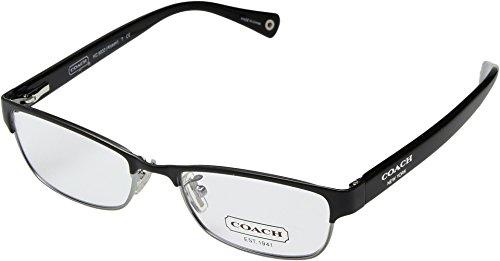 COACH Women's 0HC5033 Satin Black One - Frames Prescription Coach Sunglass