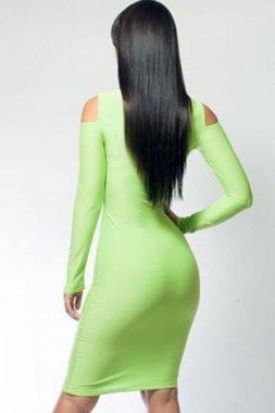 Pertul Ltd. -  Vestito  - Donna Verde Green X-Large