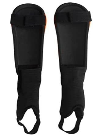 Carbrini Junior Shinpads with Ankle Straps