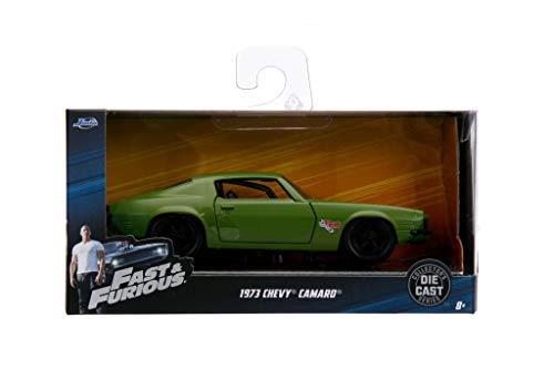 Jada Dom's 1973 Chevrolet Camaro F-Bomb Green Fast & Furious Movie 1/32 Diecast Model Car