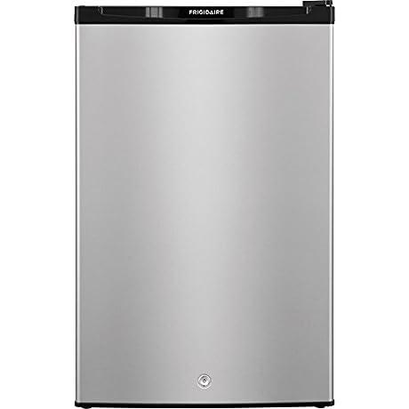 Frigidaire FFPE4522QM 22 Compact Refrigerator Silver Mist
