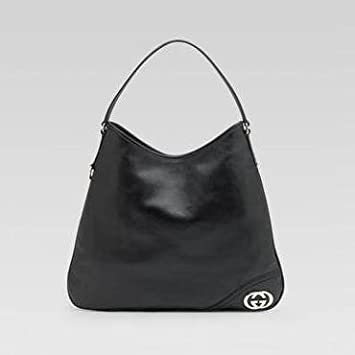 52470b4f431b Image Unavailable. Image not available for. Color: Britt Black Medium Hobo  Bag