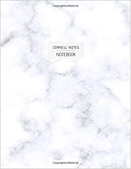 Free Epub Cornell Notes Notebook: Cornell Method for Students. Stability White Marble Cover