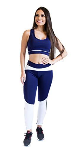 Calça Legging - Scissor Training - Azul Marinho - M