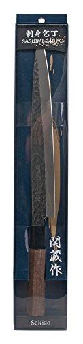 Yanagiba Sashimi Knife 240mm -Hammered Pattern-