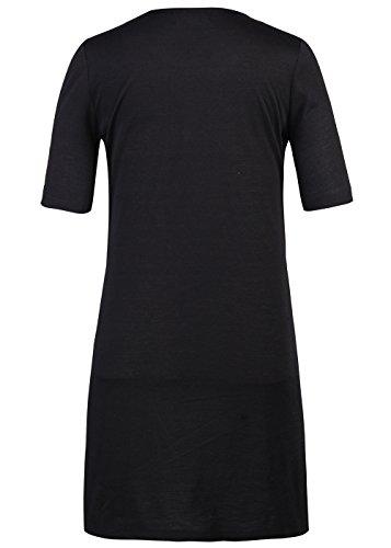 T-Shirt der Frauen gedruckte beiläufige Minikleid-Kurzschluss-Hülsen-Bluse