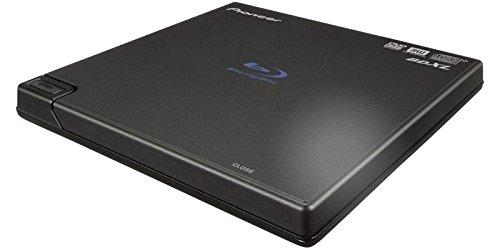 Pioneer BDR-XD05TB 6 x Slim Portable USB 3.0 BD/DVD/CD Burner - Black