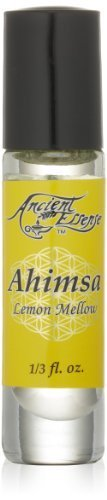 (Ancient Essence's Essential Oil, Ahimsa-Lemon Mellow, 0.33 Ounce)