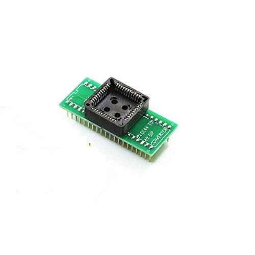 2PCS PLCC44 to DIP40 EZ Programmer Adapter Socket Universal Converter