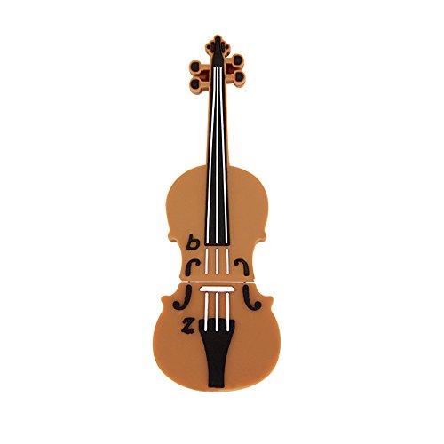 Usbkingdom 16GB USB 2.0 Flash Drive Cartoon Music Violin Shape Pendrive Memory Stick USB Thumb Drive