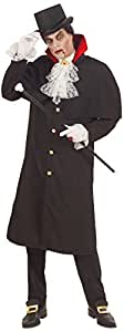Widman - Disfraz de Halloween Drácula adultos, talla L (57703)