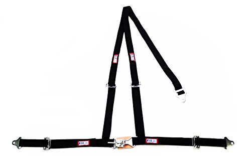 - Racerdirect Off Road Latch & Link Y Floor Mount Harness RJS Racing 3 Point Buggy Belt Black