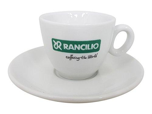 Rancilio italienische Espressotasse mit Unterteller