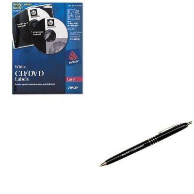 Dvd Label Maker Kit (KITNSN5549538NSN9357136 - Value Kit - NIB - NISH 753000NIB0688 Avery CD/DVD Label Maker Kit (NSN5549538) and NIB - NISH 7520009357136 US Government Retractable Pen (NSN9357136))