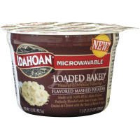 Idahoan Steakhouse Loaded Baked Mashed Potatoes, Made with Gluten-Free 100-Percent Real Idaho Potatoes, 1.5 oz Cup (Pack of 10)