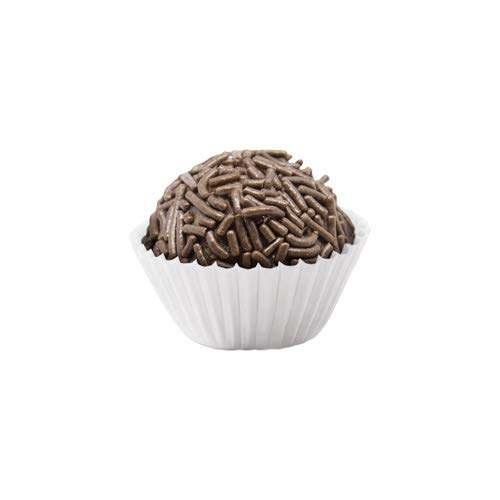 Amazon.com: Liners for Candies (Forminha de Brigadeiros) (White/Branca - 4): Kitchen & Dining