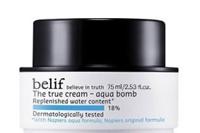 belif The True Cream Aqua Bomb Cream 75ml, Korean Cosmetics, odd cosmetics Aqua Moisturizing Night Cream